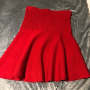 NWOT Zara sweater skirt